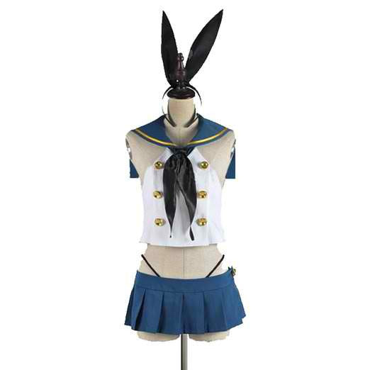 Inspired by Kantai Collection Shimakaze Cosplay Costume