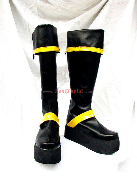 Inspired by D. Gray Man Yu Kanda Cosplay Boots Fanbook Edition