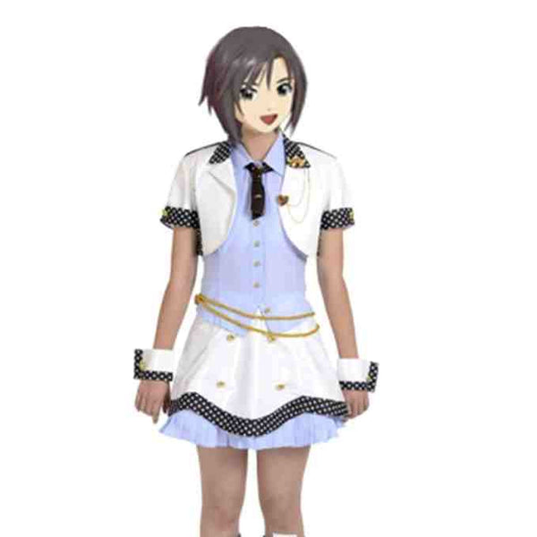 Inspired by The Idolmaster Makoto Kikuti Cosplay Costume - Ver 1