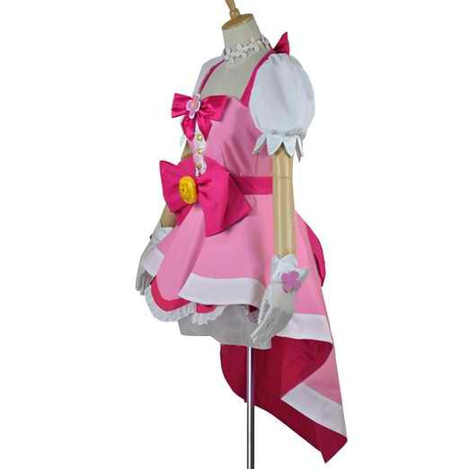 Inspired by Go! Princess PreCure Haruka Haruno Cure Flora Cosplay Costume