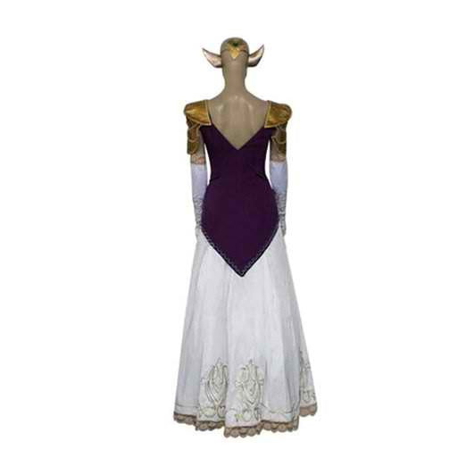 Inspired by Legend of Zelda Princess Zelda Cosplay Costume - Ver 2