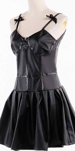 Inspired by Future Diary Gasai Yuno Black Dress Cosplay Costume