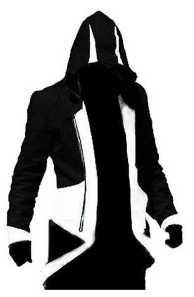 Inspired by Assassin's Creed 3 Connor Kenway Hoodie Jacket Cosplay Costume - Cosplayful