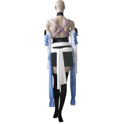 Inspired by Kingdom Hearts Aqua Cosplay Costume - Ver 1