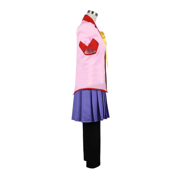 Inspired by Is It Wrong to Try to Pick up Girls in a Dungeon? Suruga Kanbaru Cosplay Costume