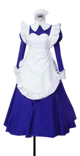 Inspired by Haruhi Suzumiya Mori Sonou Maid Cosplay Costume