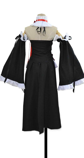 Inspired by Seraph of the End Krul Tepes Battle Suit Cosplay Costume