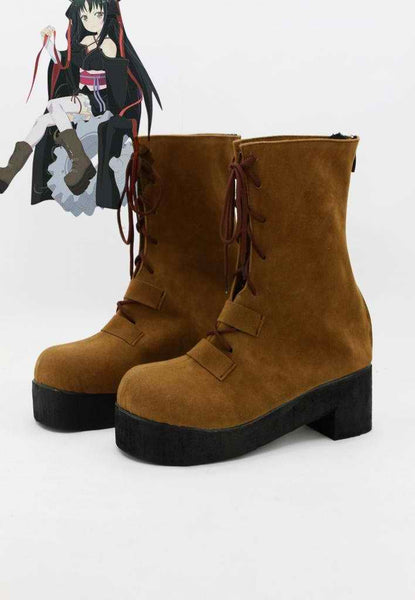Inspired by Unbreakable Machine-Doll Yaya Cosplay Boots