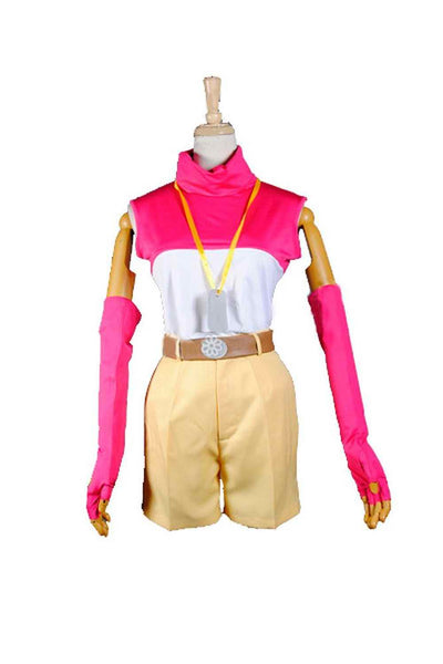 Inspired by Digimon Adventure Hikari Yagami Cosplay Costume - Ver 1