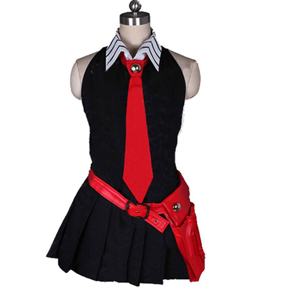 Inspired by Akame Ga Kill! Akame Black Dress Cosplay Costume - Cosplayful