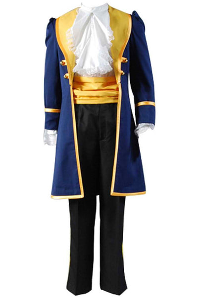 Inspired by Beauty and the Beast Prince Adam Cosplay Costume