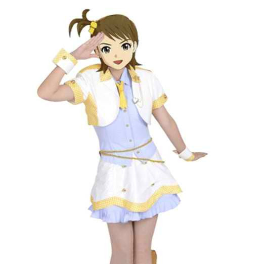 Inspired by The Idolmaster Ami Futami Cosplay Costume - Ver 1