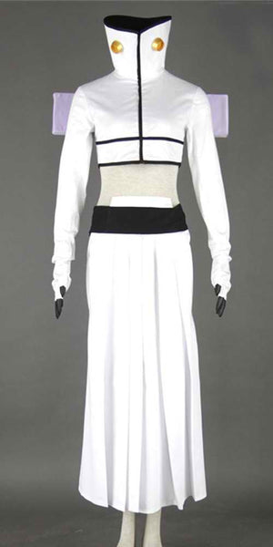 Inspired by Bleach Tia Halibel White Cosplay Costume