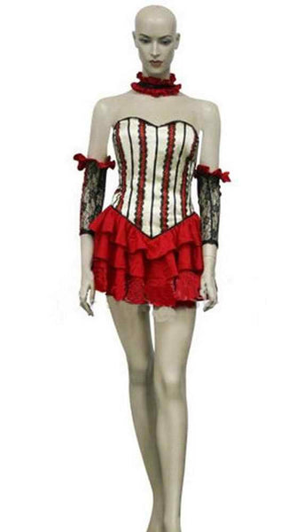 Inspired by Chobits Chi Red Dress Cosplay Costume