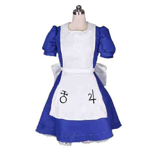 Inspired by Alice: Madness Returns Alice Cosplay Costume - Ver 3 - Cosplayful