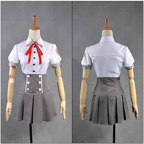 Inspired by Kamigami No Asobi Yui Kusanagi Summer Uniform Cosplay Costume