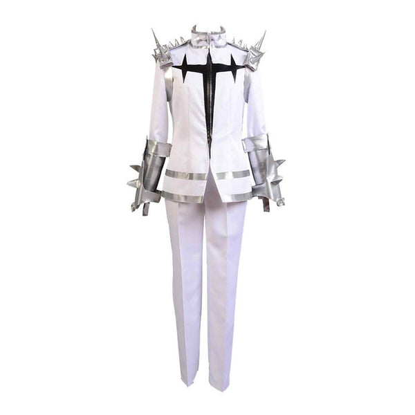 Inspired by KILL la KILL Ira Gamagoori Final Form White Cosplay Costume