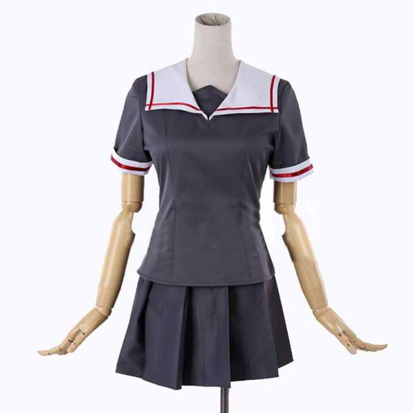 Inspired by Kantai Collection  White Dews Uniform Costume