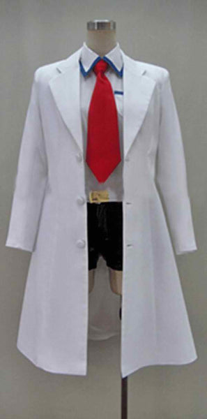Inspired by Steins;Gate Makise Kurisu Lab Cosplay Costume
