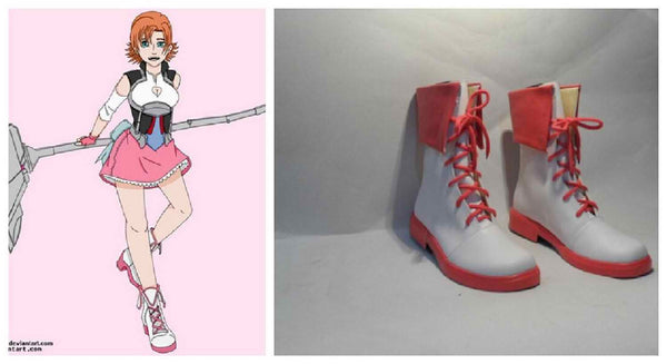 Inspired by RWBY Nora Valkyrie Cosplay Boots