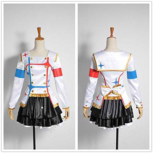 Inspired by The Idolmaster Kagayaki No Mukogawa Cosplay Costume - Ver 1