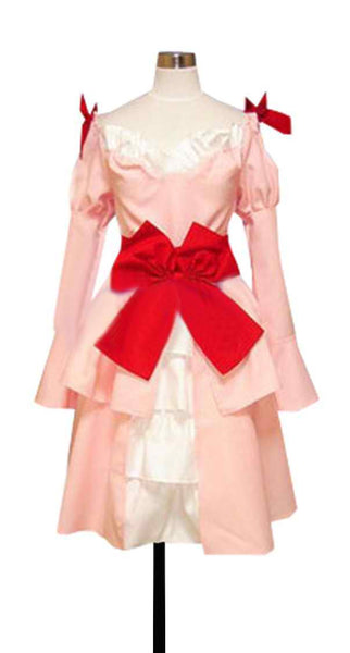 Inspired by Haruhi Suzumiya Haruhi Pink Dress Cosplay Costume