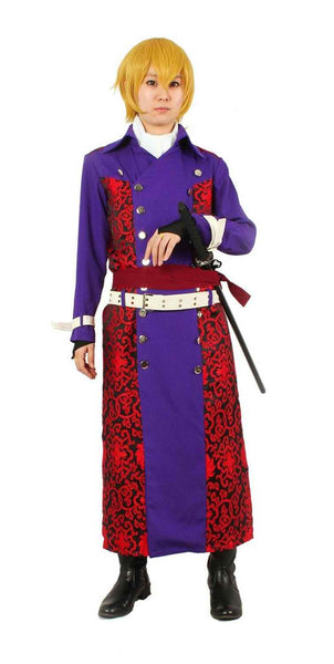 Inspired by Hakuouki Chikage Kazama Cosplay Costume - Ver 2