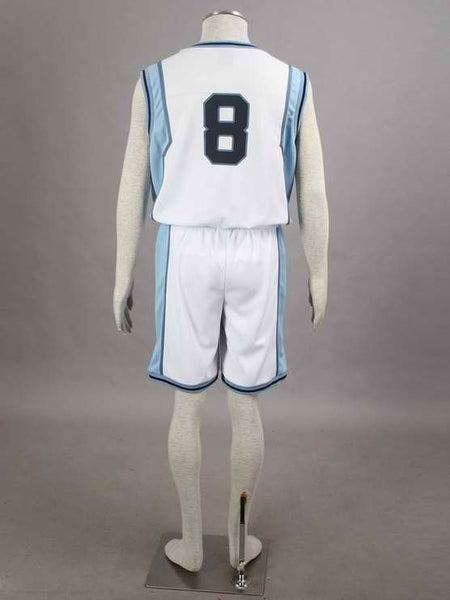 Inspired by Kuroko's Basketball Teiko Kise Ryota #8 Basketball Uniform Costume
