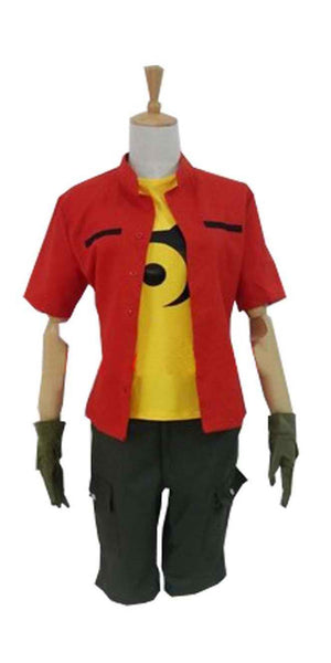 Inspired by Digimon Adventure Kanbara Takuya Cosplay Costume