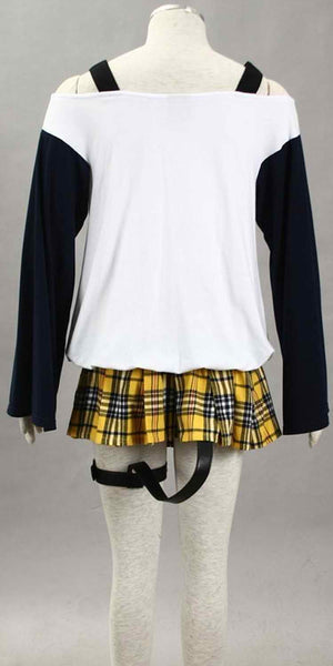 Inspired by Rosario and Vampire Mizore Shirayuki Cosplay Costume