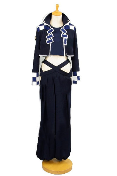 Inspired by BRAVE 10 Rokuro Unno Cosplay Costume