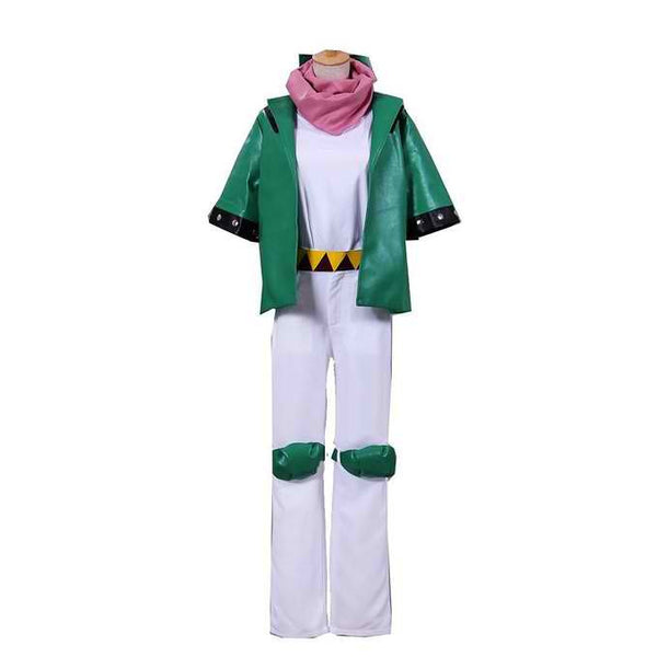 Inspired by Jojo's Bizarre Adventure Caesar Anthonio Zeppeli Cosplay Costume