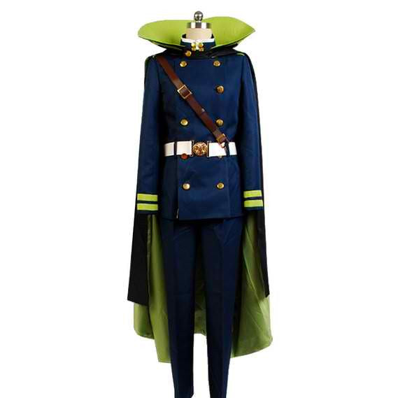 Inspired by Seraph of the End Yuichiro Hyakuya Cosplay Costume