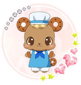 Custom Tailor Made Cosplay Costume Inspired by Donadona from Jewelpet the Movie: Sweets Dance Princess