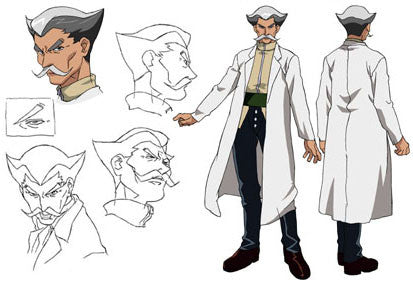 Custom Tailor Made Cosplay Costume Inspired by Dr. Arisugawa from Dennou Boukenki Webdiver