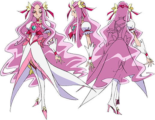 Custom Tailor Made Cosplay Costume Inspired by Cure Flower from HeartCatch Precure!