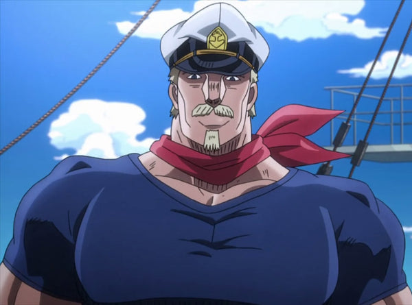 Custom Tailor Made Cosplay Costume Inspired by Captain Tennille's impersonator from JoJo's Bizarre Adventure: Stardust Crusaders