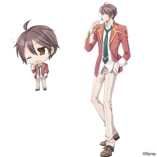 Custom Tailor Made Cosplay Costume Inspired by Tomo Kasahara from Gakuen Heaven 2 ~Double Scramble!~