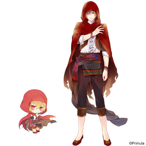 Custom Tailor Made Cosplay Costume Inspired by Red Riding Hood from Taishou x Alice