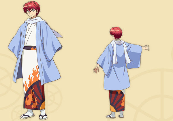 Custom Tailor Made Cosplay Costume Inspired by Sabato Rokudo from Rin-ne