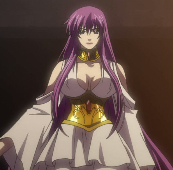 Custom Tailor Made Cosplay Costume Inspired by Athena from Saint Seiya: The Lost Canvas - Myth of Hades