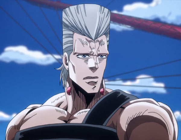 Custom Tailor Made Cosplay Costume Inspired by Jean Pierre Polnareff from JoJo's Bizarre Adventure: Stardust Crusaders