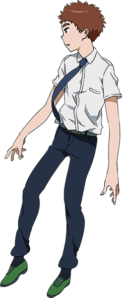 Custom Tailor Made Cosplay Costume Inspired by Izzy Koushiro from Digimon Adventure tri.