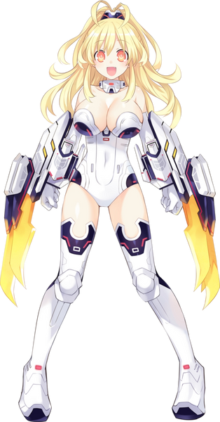 Custom Tailor Made Cosplay Costume Inspired by Yellow Heart from Hyperdimension Neptunia Victory