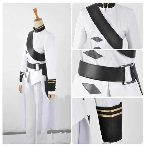 Inspired by Seraph of the End Ferid Bathory Cosplay Costume