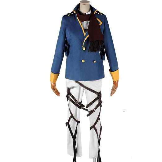 Inspired by Attack on Titan Shingeki no Kyojin Mikasa Ackerman Cosplay Costume - Ver 2