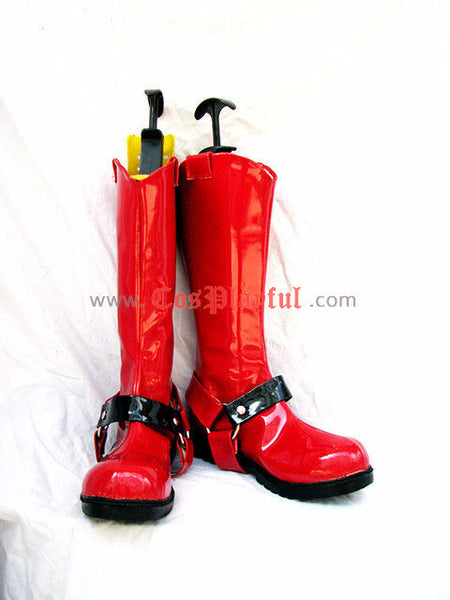 Inspired by Bakuretsu Tenshi Burst Angel Jo Cosplay Boots