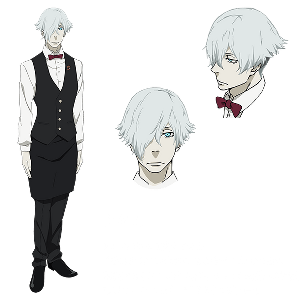 Custom Tailor Made Cosplay Costume Inspired by Decim from Death Parade