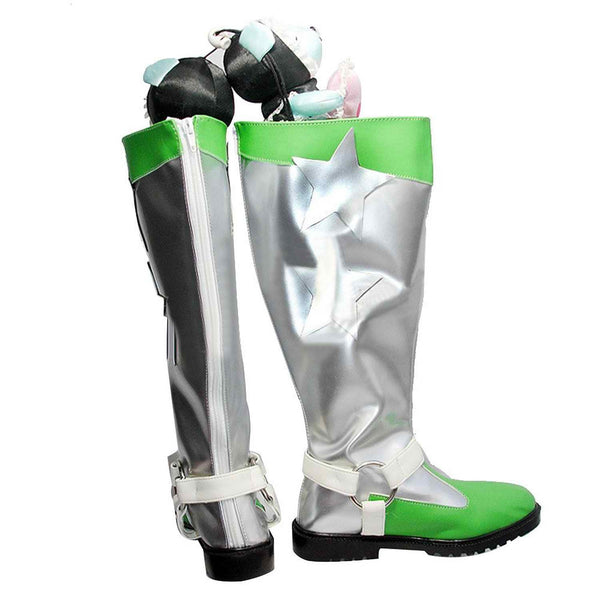 Inspired by The Idolmaster Hoshii Miki Cosplay Boots