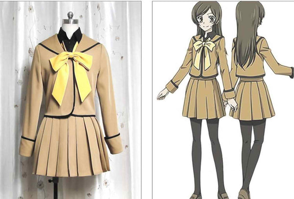 Inspired by Kamisama Kiss Taoyuan Momozono Nanami Uniform Cosplay Costume